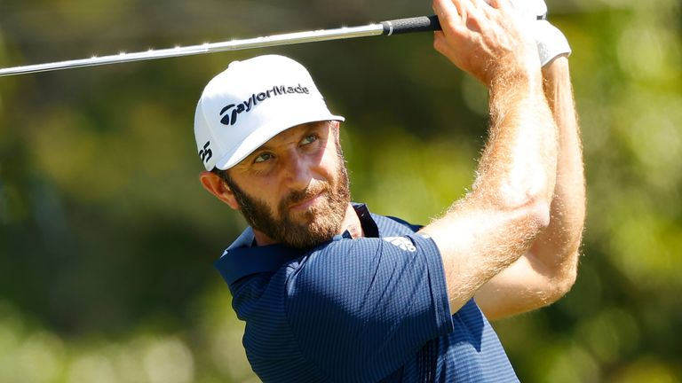 Dustin Johnson has withdrawn from the Zozo Championship