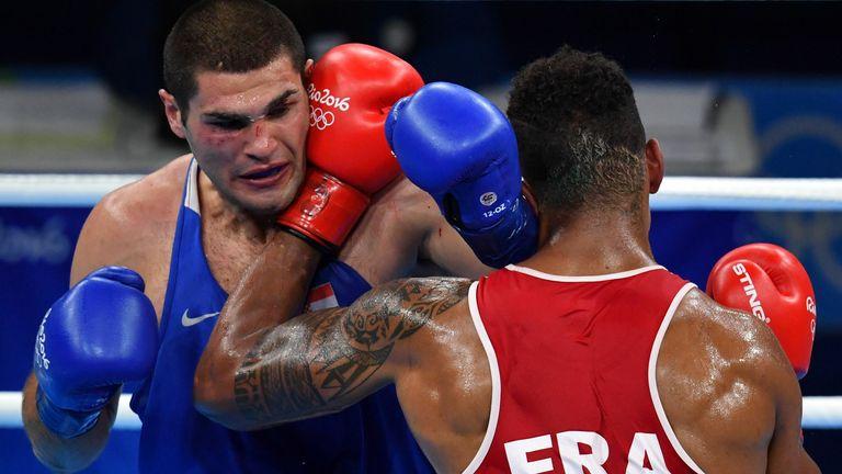 Yoka won the Olympic semi-final over Hrgovic