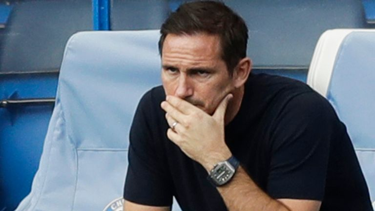 Chelsea boss Frank Lampard says he wants to have the 'strongest squad' possible available to him this season