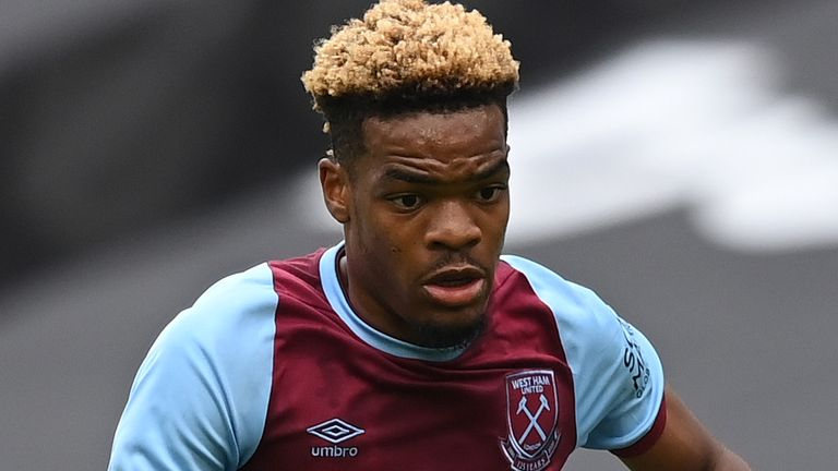 Diangana made 21 appearances after coming through the West Ham academy