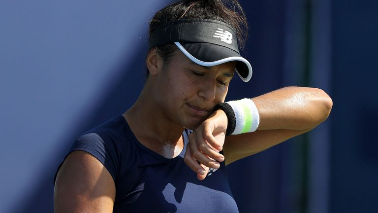 Heather Watson pulled no punches when assessing the future of British tennis