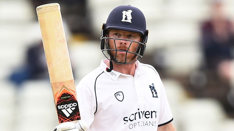 Ian Bell made a half-century for Warwickshire a day after announcing he will retire at the end of the season