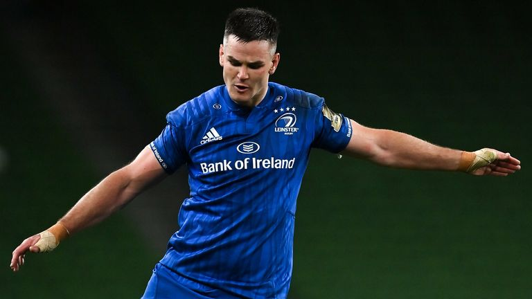 Leinster's Johnny Sexton will start the final among the replacements