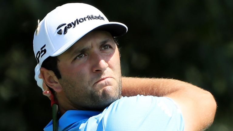 Rahm has won the Memorial Tournament and the BMW Championship since golf's resumption in June