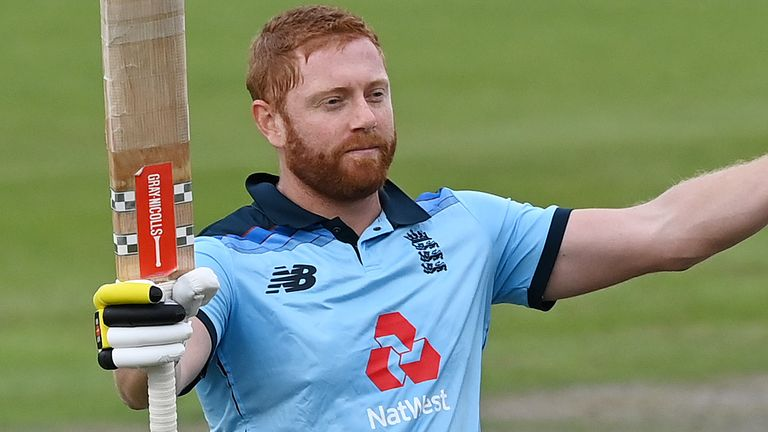 Jonny Bairstow is back in the top 10 of the batting rankings after hitting his 10th ODI hundred
