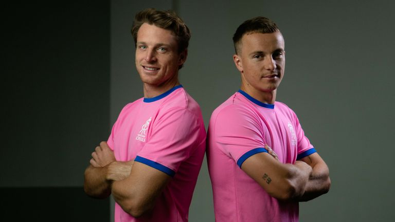 Curran joins Jos Buttler as well as Jofra Archer and Ben Stokes in a strong England contingent at the Royals