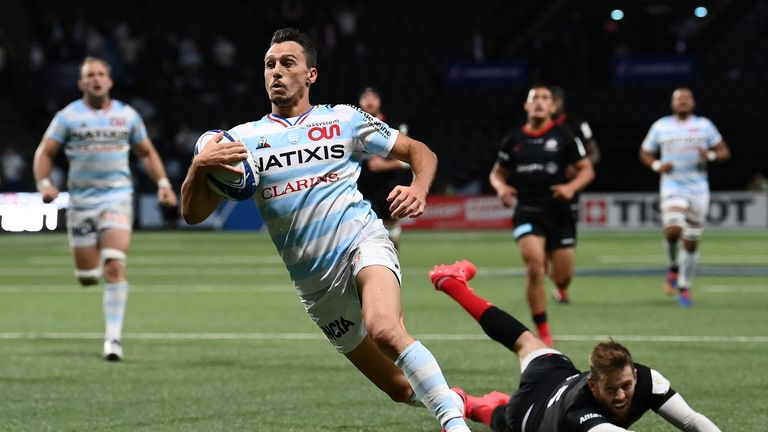 Imhoff in action for Racing 92