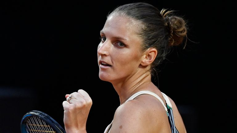 The defending champion will aim to retain her title on Monday