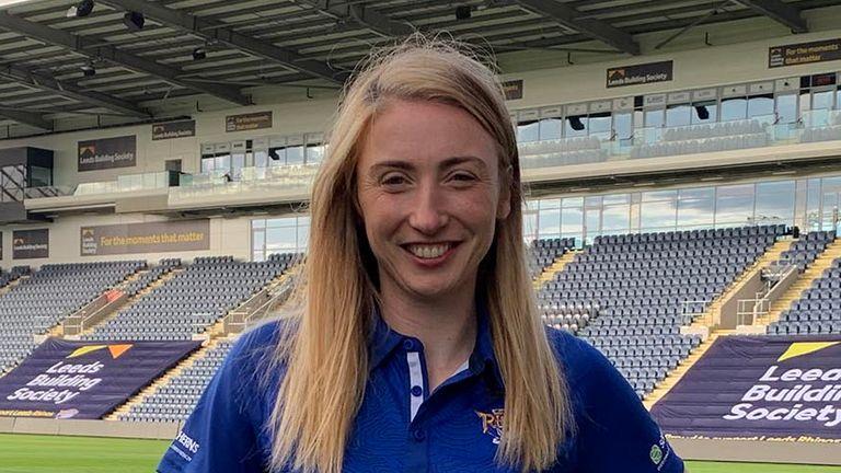 Jade Clarke has joined Leeds Rhinos Netball for their inaugural Vitality Netball Superleague season