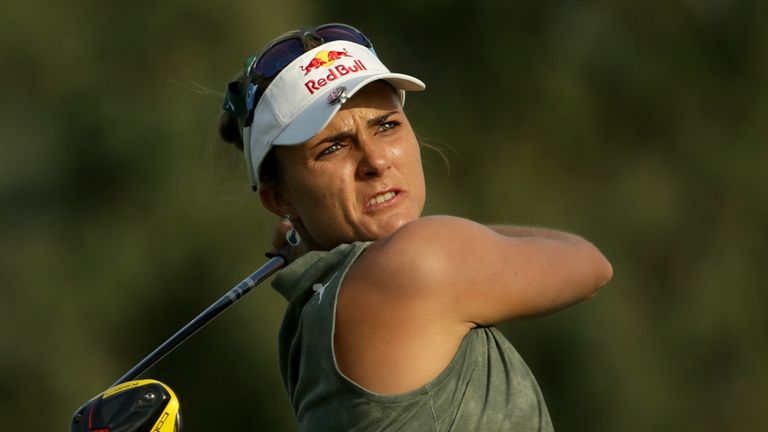 Lexi Thompson goes into the weekend four off the lead