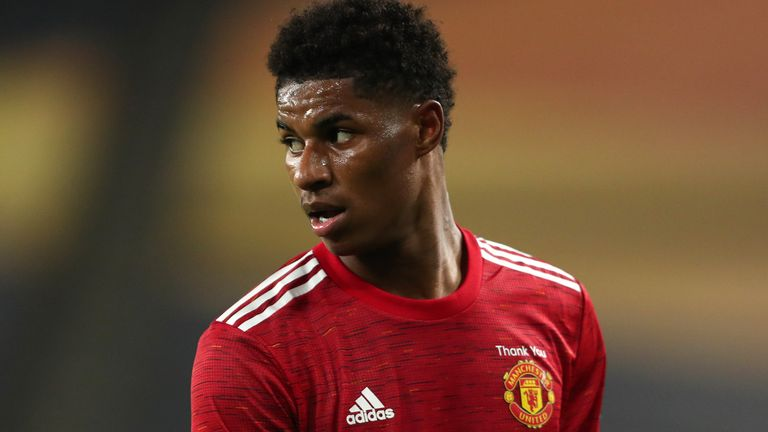 Marcus Rashford will spearhead Manchester United's attempts to return to Premier League title contention
