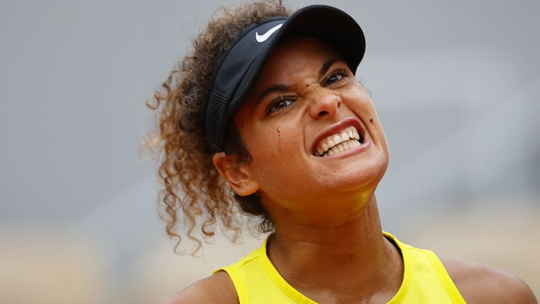 Mayar Sherif hopes she has inspired young Egyptian female tennis players after her performances at Roland Garros