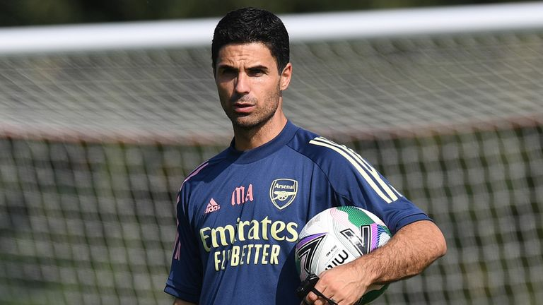 Mikel Arteta's side face Liverpool in the Premier League and Carabao Cup