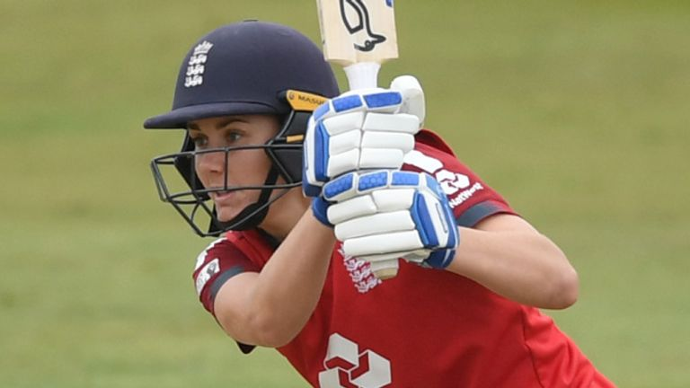 Nat Sciver played a pivotal role in England Women's T20 series victory over West Indies Women