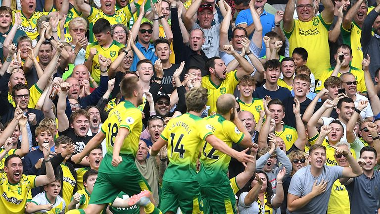 Norwich are set to welcome fans back into Carrow Road when they host Preston