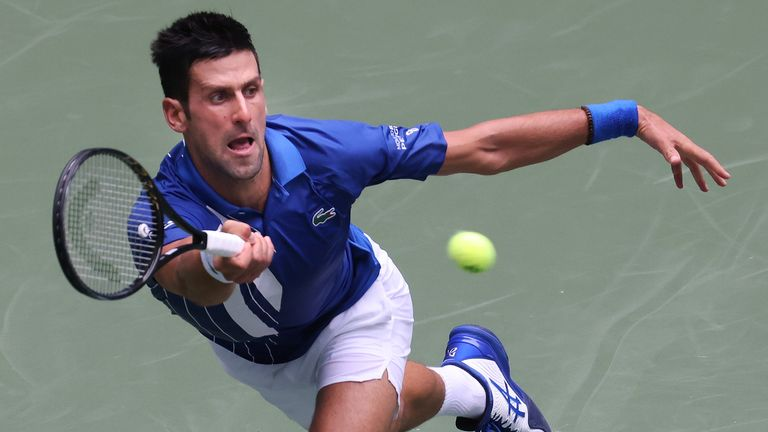 Novak Djokovic holds a perfect 29-0 record in the opening two rounds of the US Open
