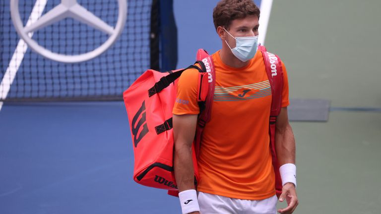 Pablo Carreno Busta said the incident was also a tough moment for him