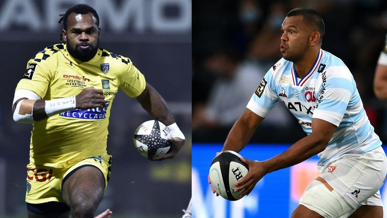 With the likes of Alvereti Raka (left) and Kurtley Beale (right) on display, Saturday's Clermont vs Racing 92 clash is too close to call