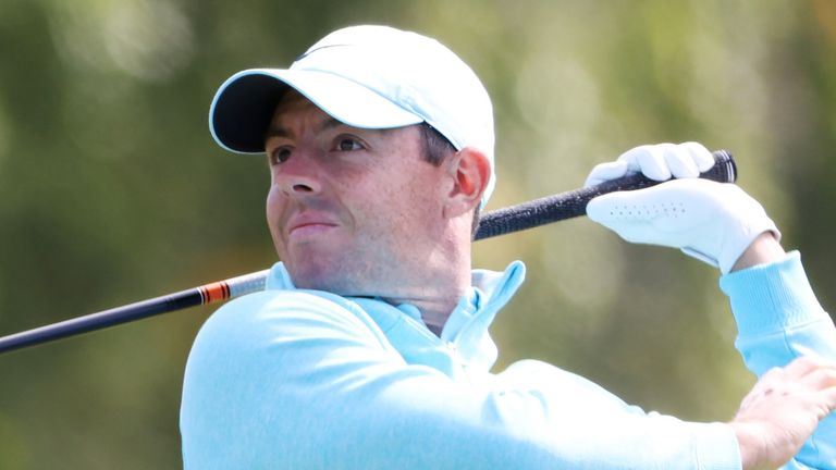 Rory McIlroy faded after opening with a double-bogey six