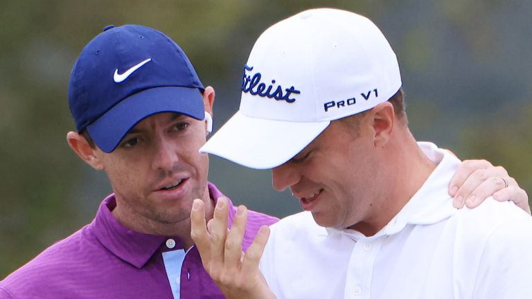 Rory McIlroy and Justin Thomas will both tee it up in Dubai