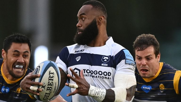 Radradra has made a big impact since joining Bristol from Bordeaux-Begles