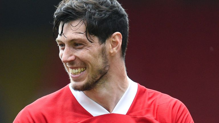 Scott McKenna has made 119 appearances for Aberdeen in all competitions