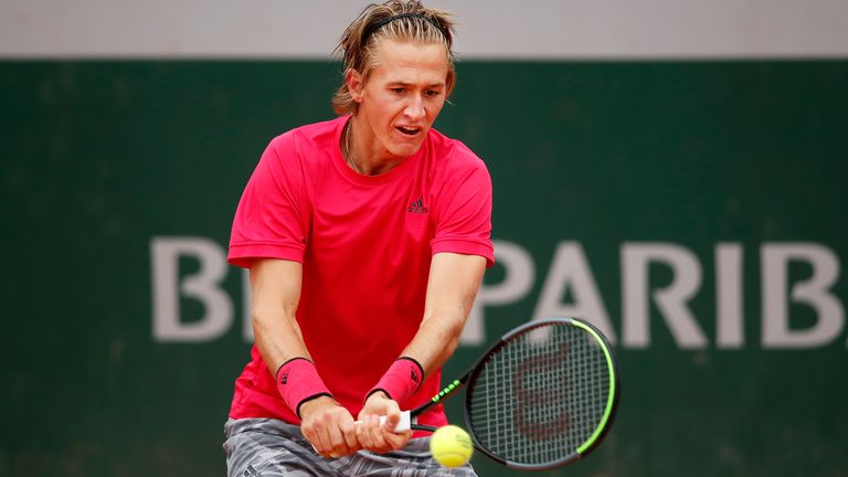 Sebastian Korda showed touches of his father, Petr, en route to victory