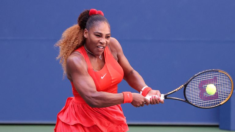 The third seed was able to overcome early nerves to remain in the draw