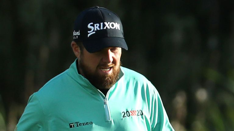 Shane Lowry slipped to an early exit at Galgorm