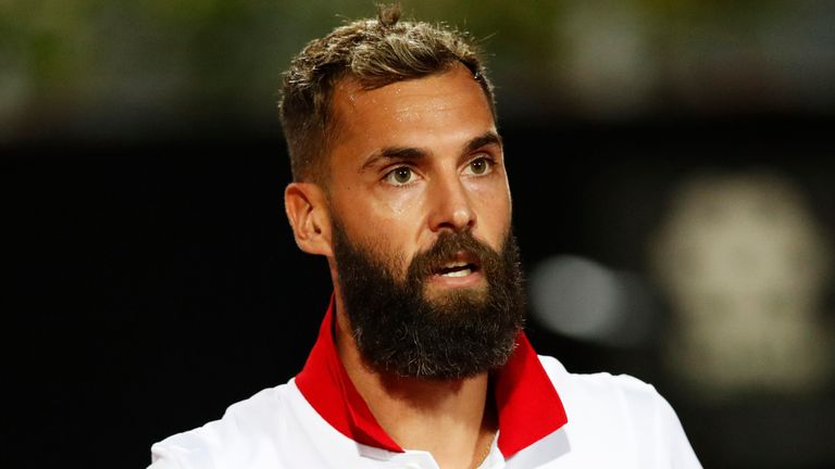 Benoit Paire did not compete at the US Open after testing positive for coronavirus and was required to quarantine