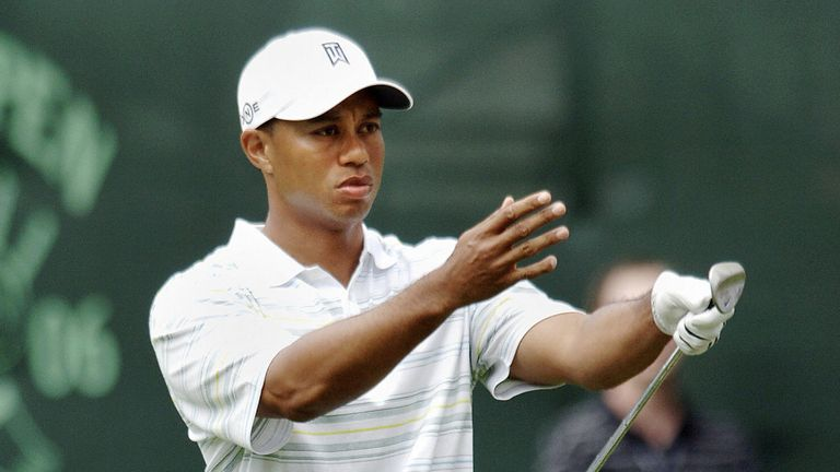 Woods missed the cut in the 2006 US Open, shortly after the death of his father
