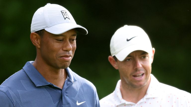 Woods missed the cut by four shots, while McIlroy's challenge fizzled out early in the final round