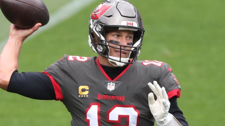 Tom Brady is lacking in weapons with new team Tampa Bay after a spate of injuries on offence