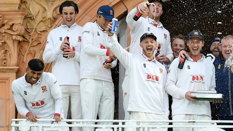 Beer was poured over Khushi on the balcony at Lord's