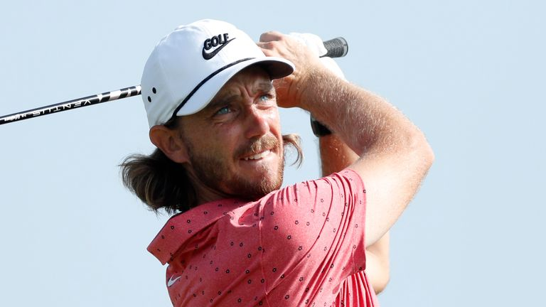 Tommy Fleetwood closed with a 64 to put pressure on the leader