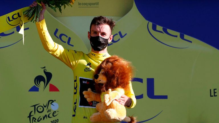 Adam Yates becomes the ninth British rider to wear the yellow jersey at the Tour de France