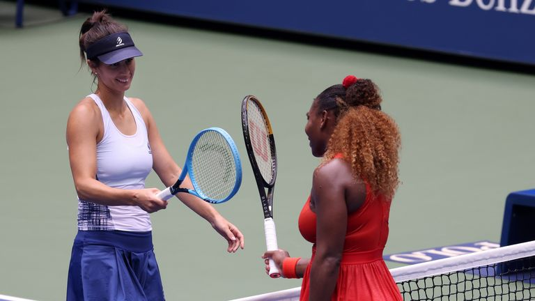 Serena Williams recovered from a set down to beat fellow mum Tsvetana Pironkova in the quarter-finals