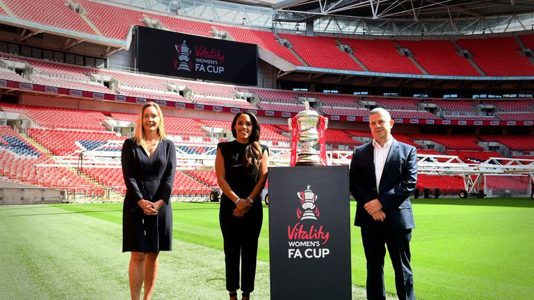 Vitality are the new sponsors of the Women's FA Cup, signing a three-year deal through to July 2023