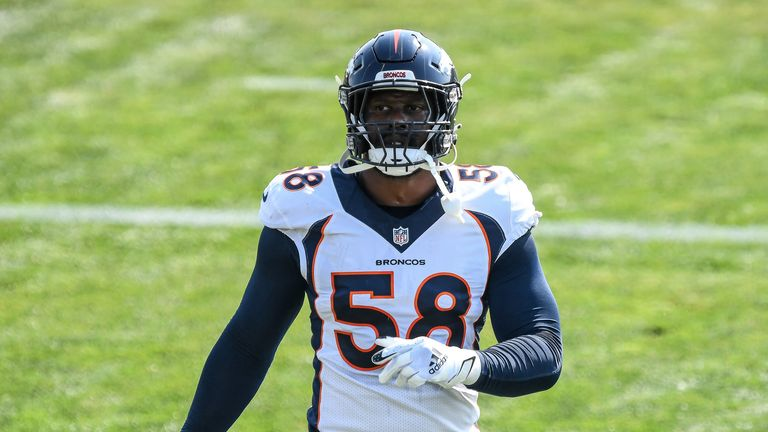 Denver Broncos linebacker Von Miller has suffered a serious ankle injury