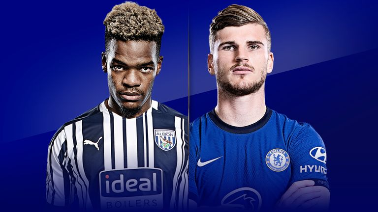Watch West Brom vs Chelsea from 5pm on Saturday live on Sky Sports