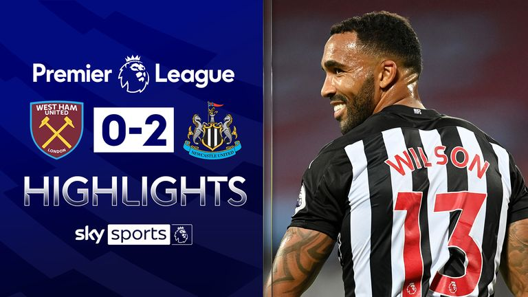 FREE TO WATCH: Highlights from Newcastle's win over West Ham