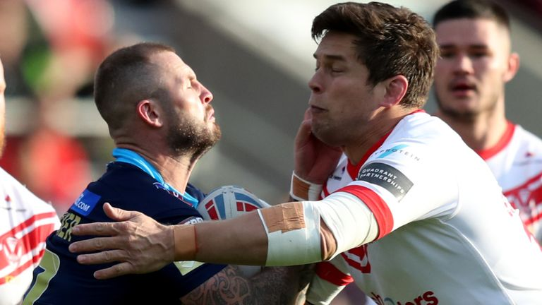 Wigan and St Helens renew their rivalry in Tuesday's Super League clash