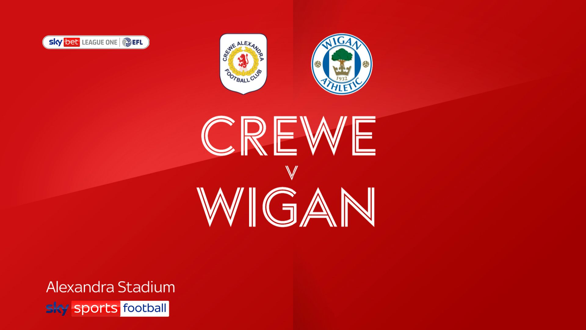 Crewe ease past Wigan