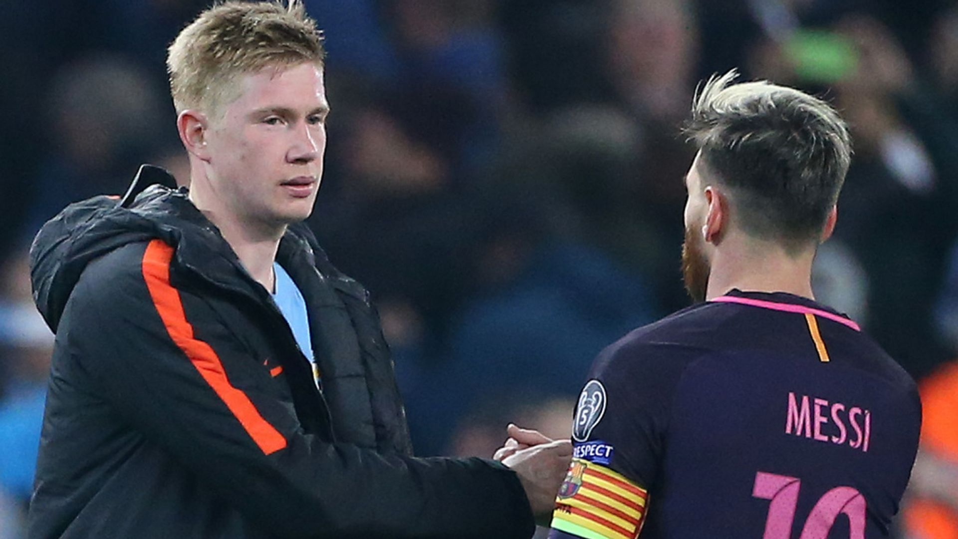 Messi to City? De Bruyne: 'I don't really care'