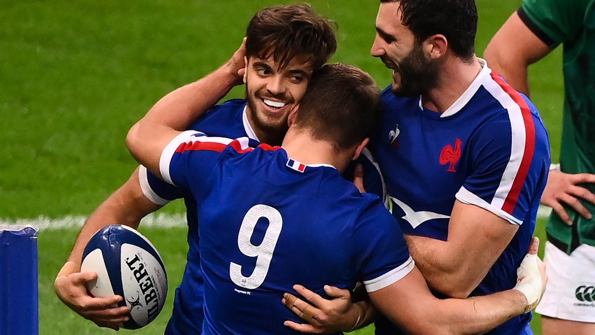 France given 28-0 bonus-point win over Fiji