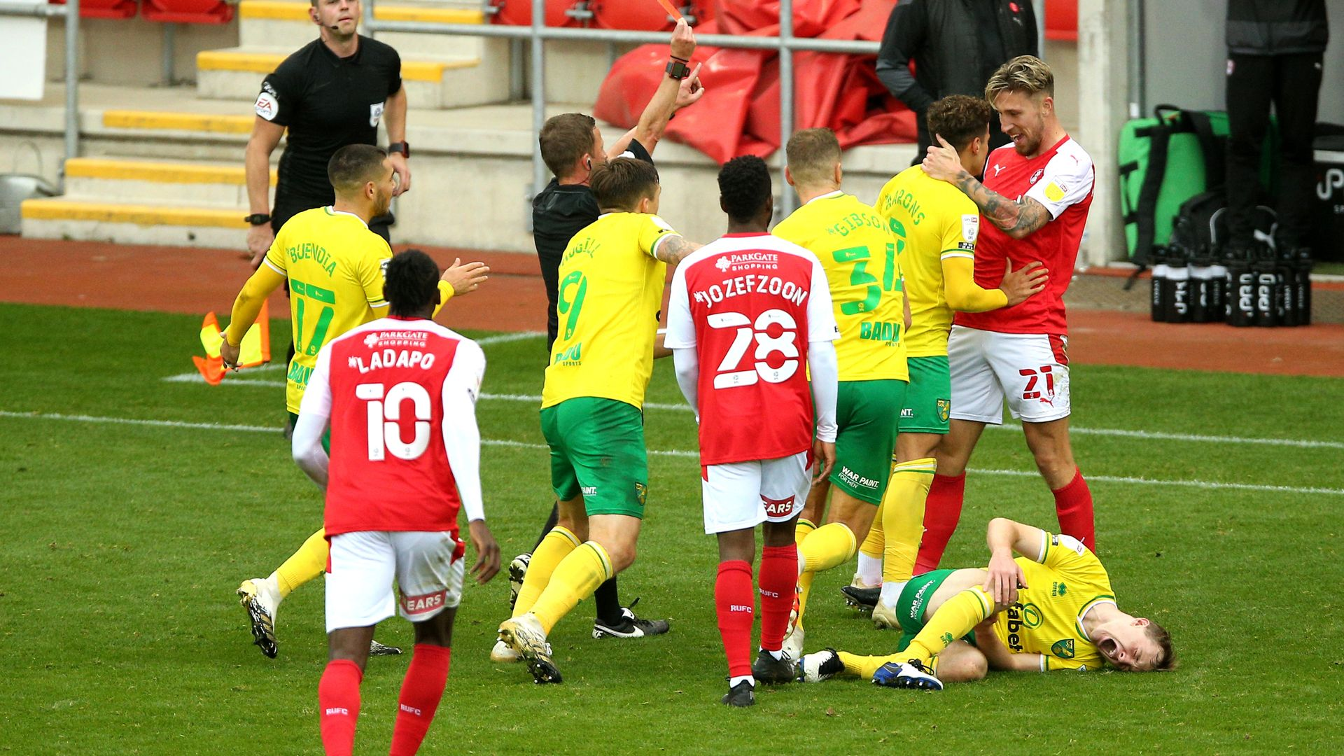 Rotherham and Norwich charged by FA
