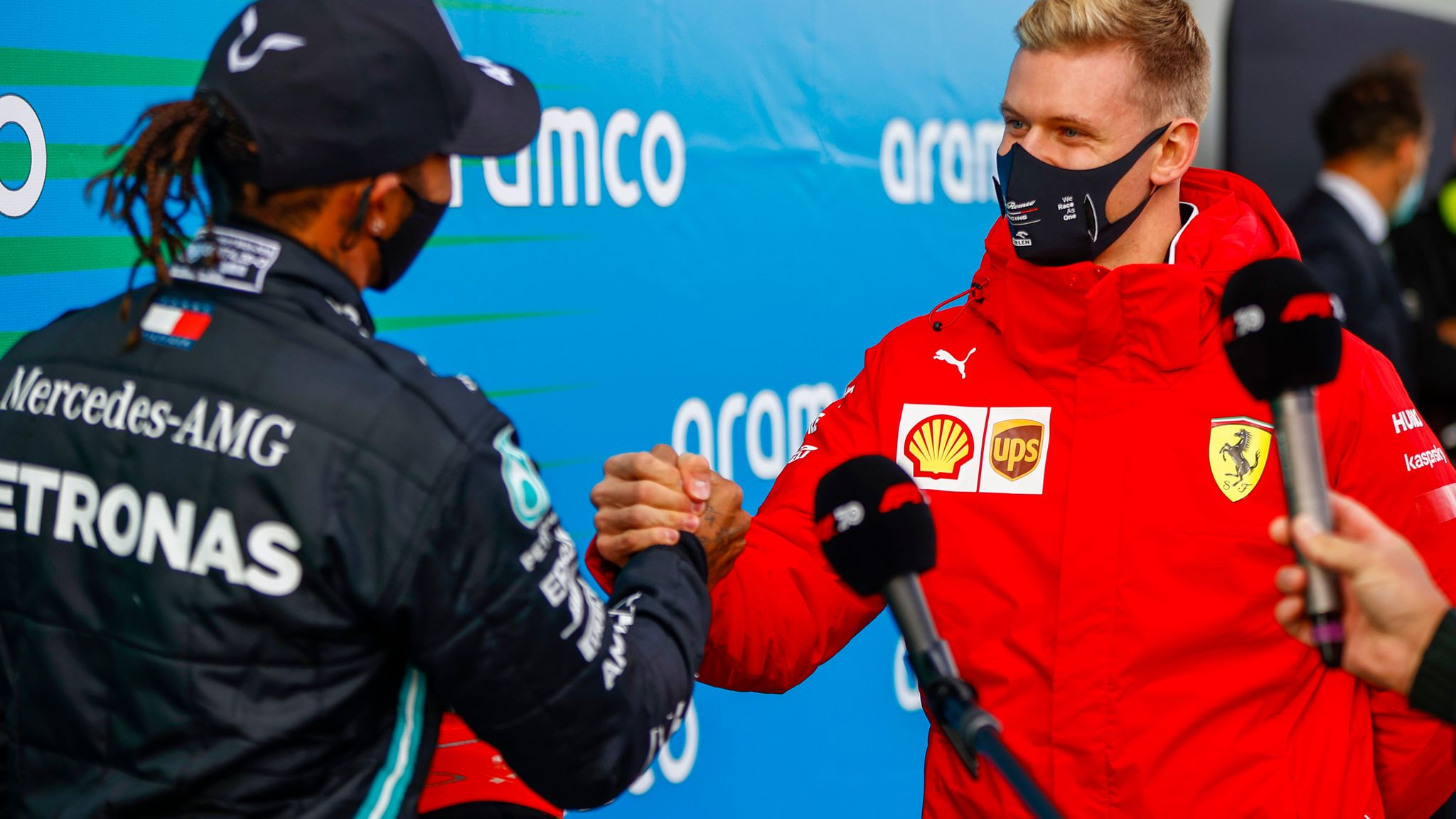 Eifel Gp Lewis Hamilton S Michael Schumacher Tribute After Historic Win F1 News