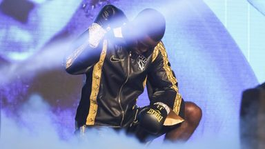 Joshua Buatsi took a knee prior to his most recent fight