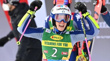 Marta Bassino was jubilant in Austria one year after her first career win