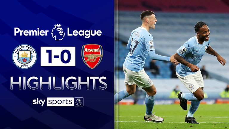 Sterling seals Man City win over Arsenal